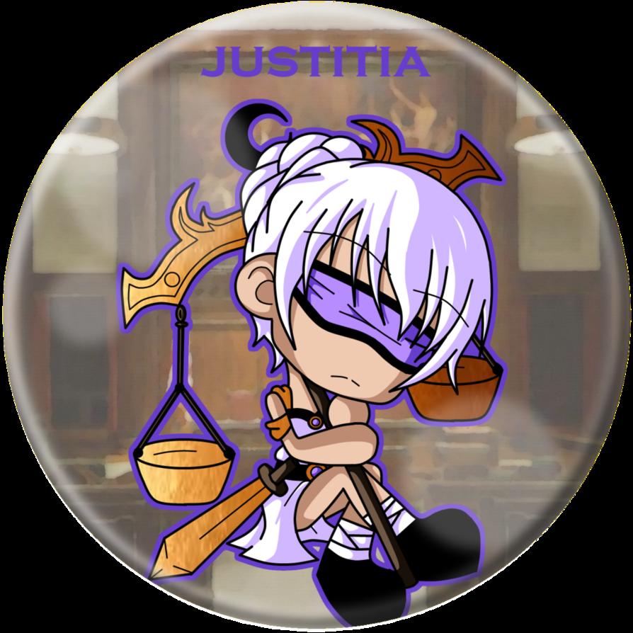Chibi Justitia by Cazuuki