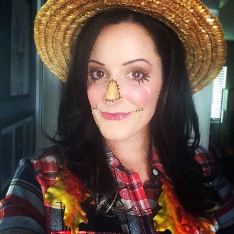 Easy scarecrow makeup for a familyfriendly Halloween