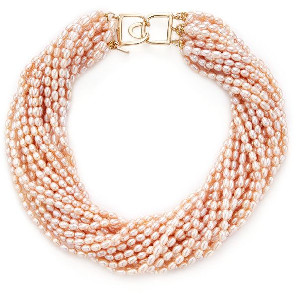 Kenneth Jay Lane Woman Gold-tone Bead And Tassel Necklace Burgundy Size Kenneth Jay Lane z2Wf27p