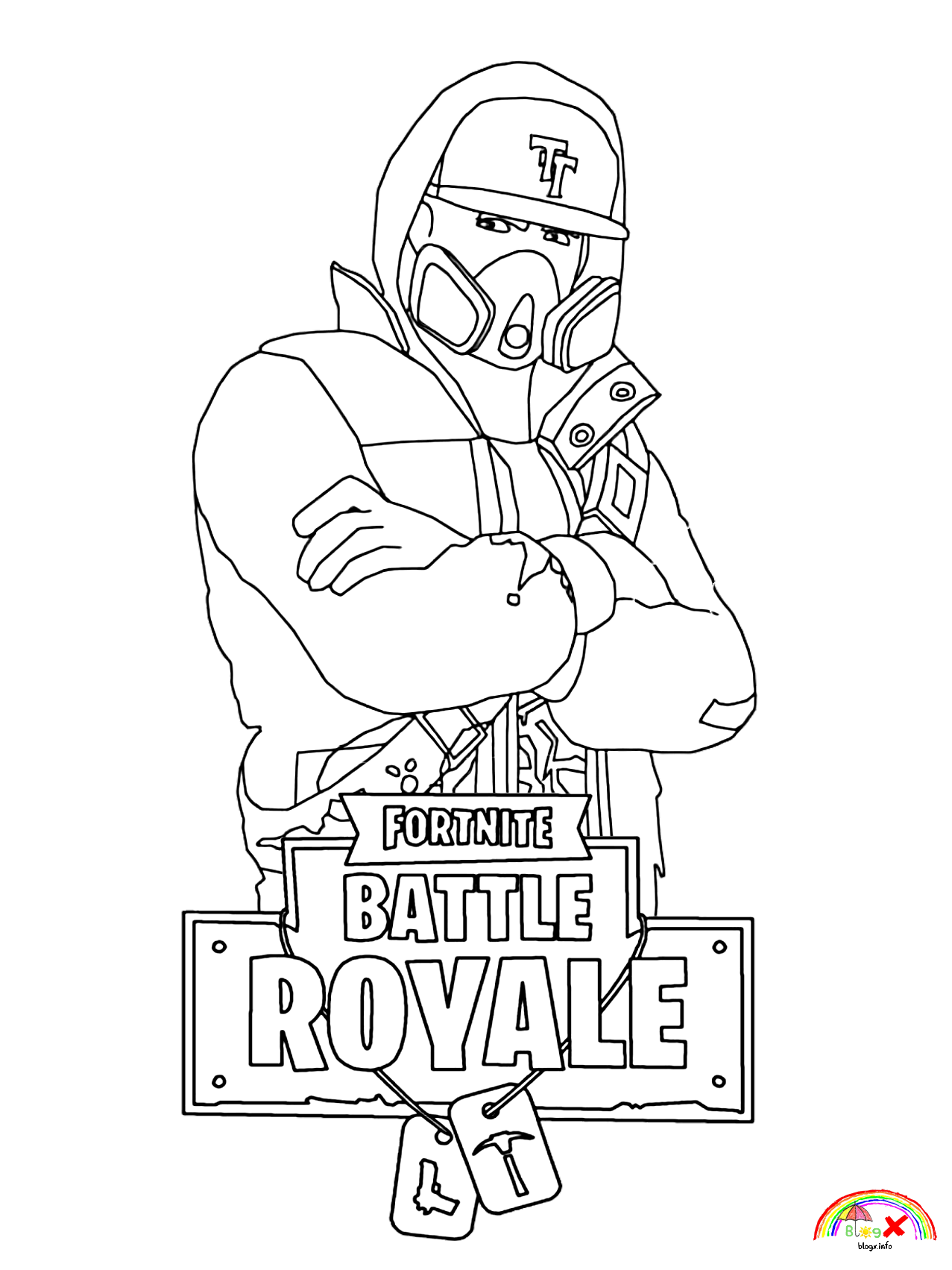 Fortnite Coloring Pages Print And Color Com Unicorn Coloring Pages Cartoon Coloring Pages Coloring Pages