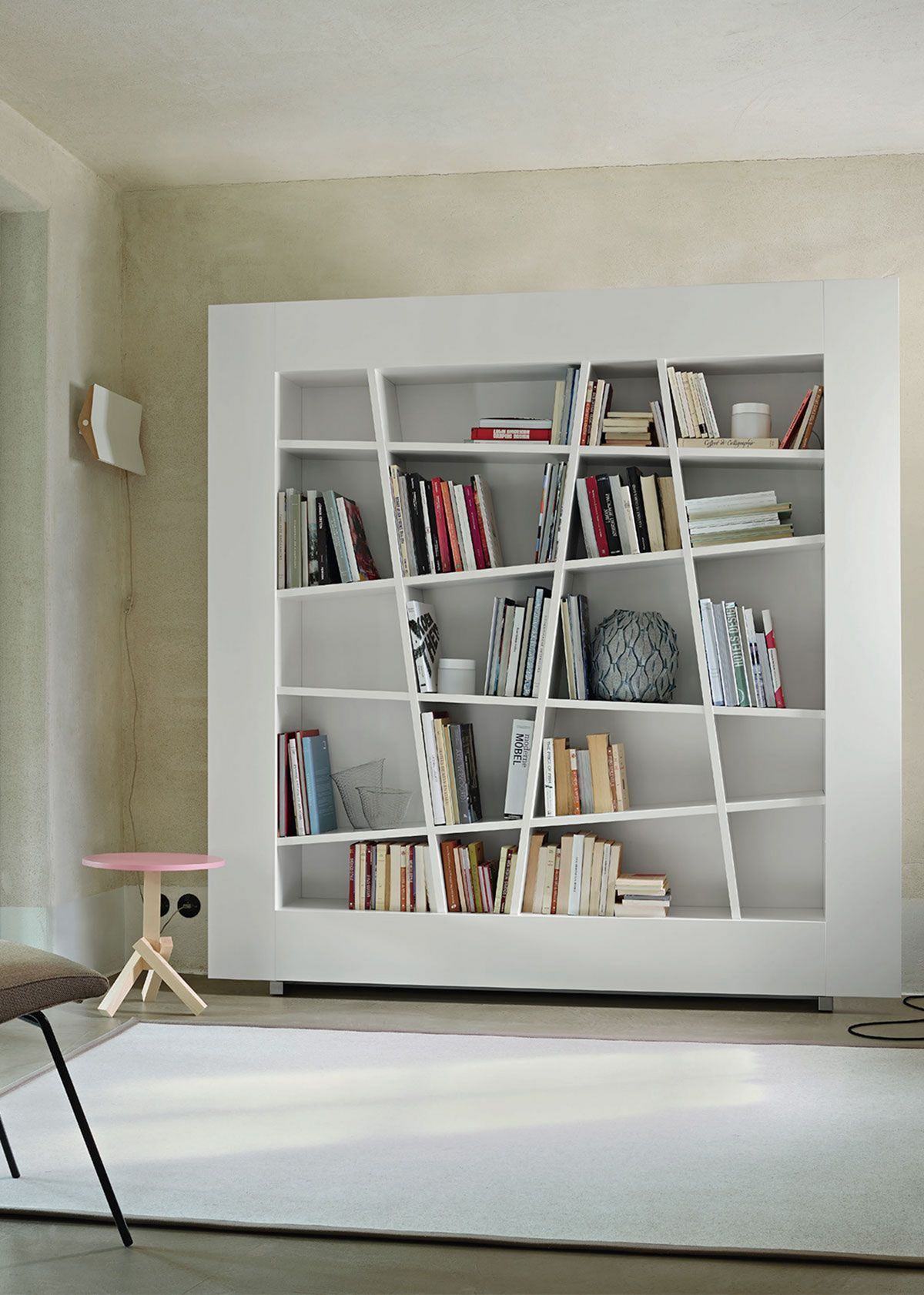 35 Unique Minimalist Bookshelf Designs To Keep Your Book