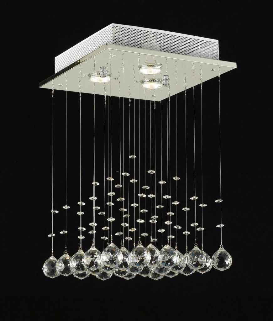 Fresh And New Lighting Fixtures Modern Chandelier Rain Drop Crystal Chandeliers Inspiration