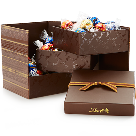 Assorted Chocolate LINDOR Truffles Fold-Out Gift Box | Lindt ...