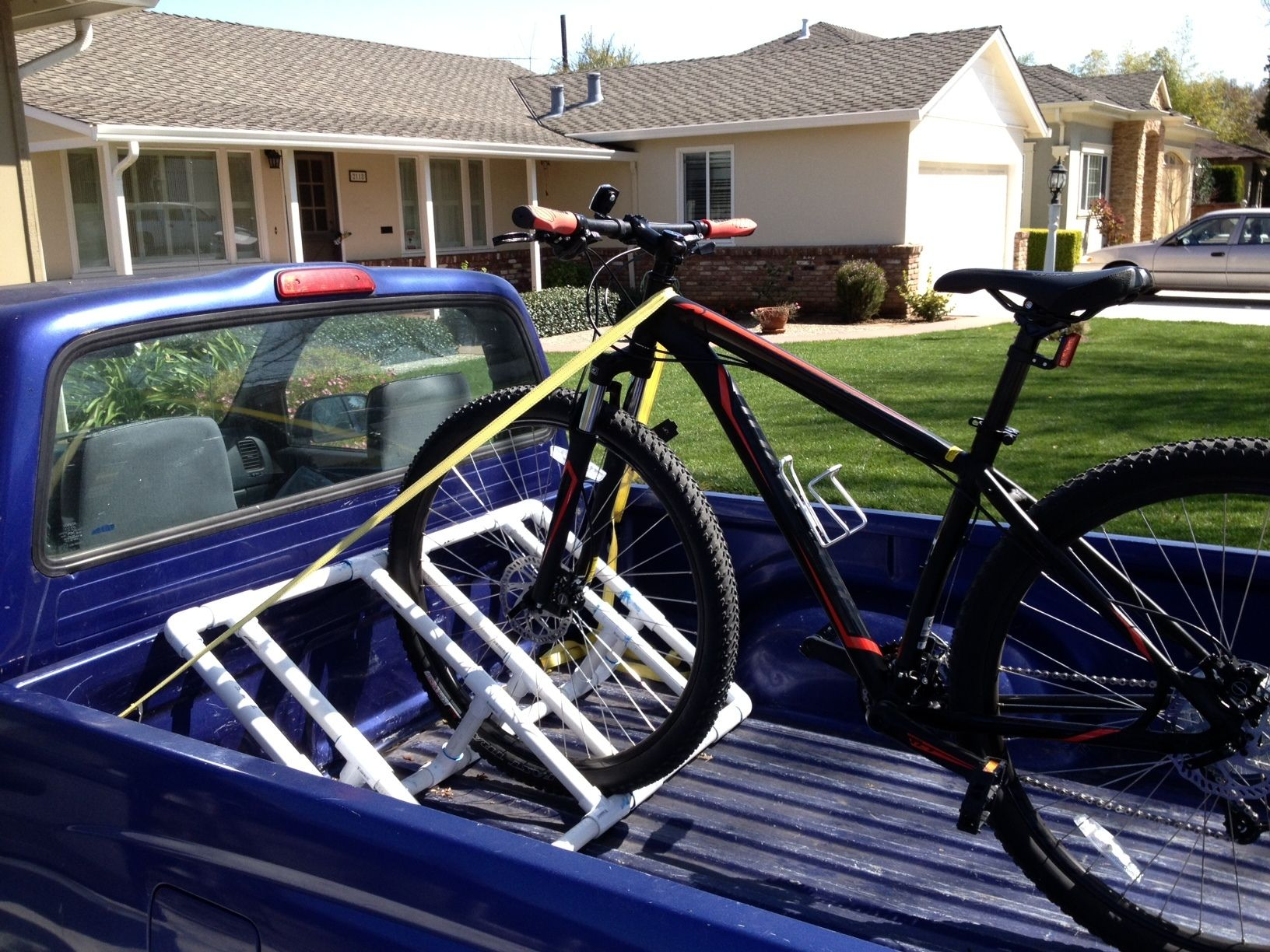 Truckbed Pvc Bike Rack Misc Awesome Stuff Pvc Bike