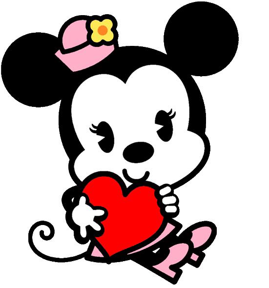 Mickey Mouse y Minnie bebés besandose - Imagui | letras | Pinterest ...