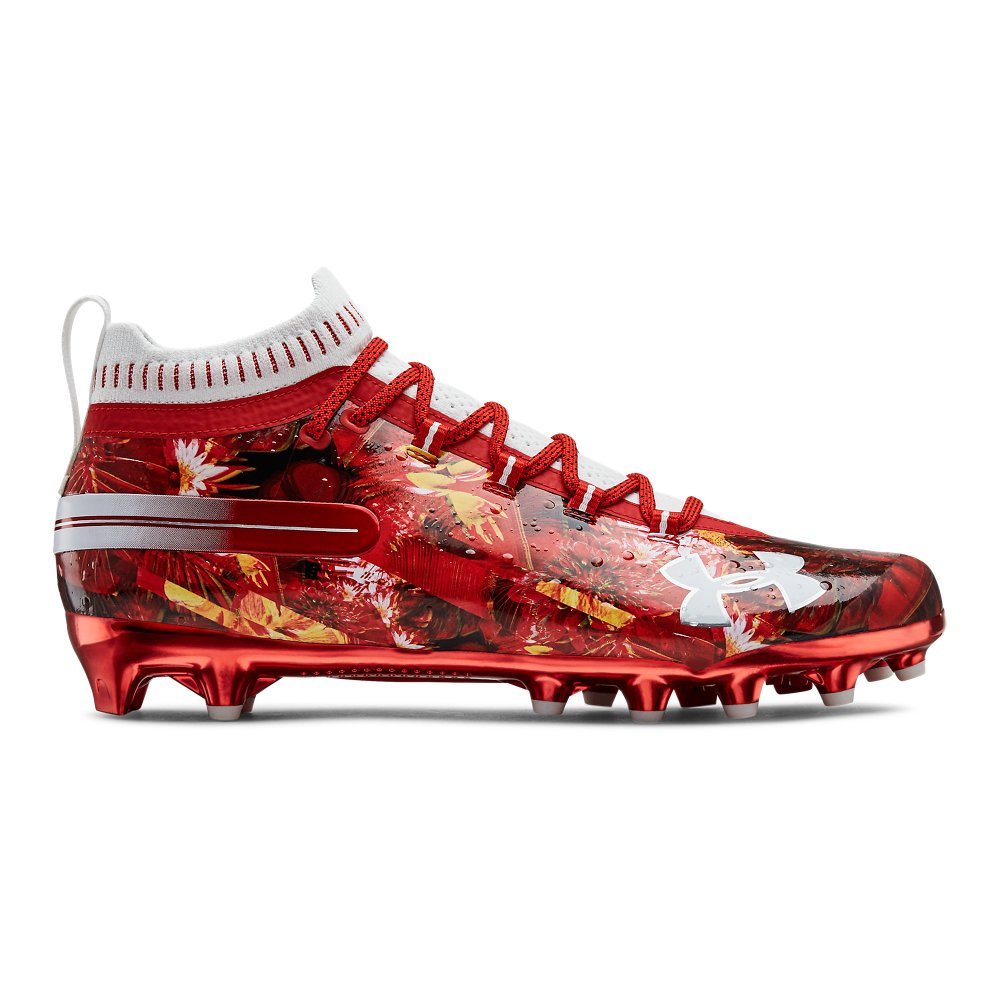 Men S Ua Spotlight Le Football Cleats In 2020 Football Cleats Custom Football Cleats Football Accessories