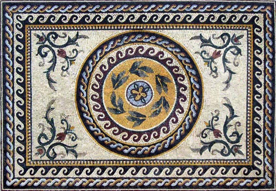 Roman marble mosaic tile stone art floor wall tabletop marble roman marble mosaic tile stone art floor wall tabletop dailygadgetfo Image collections