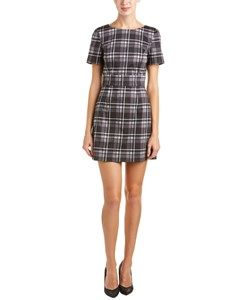 French Connection French Connection Clarence Check Sheath Dress
