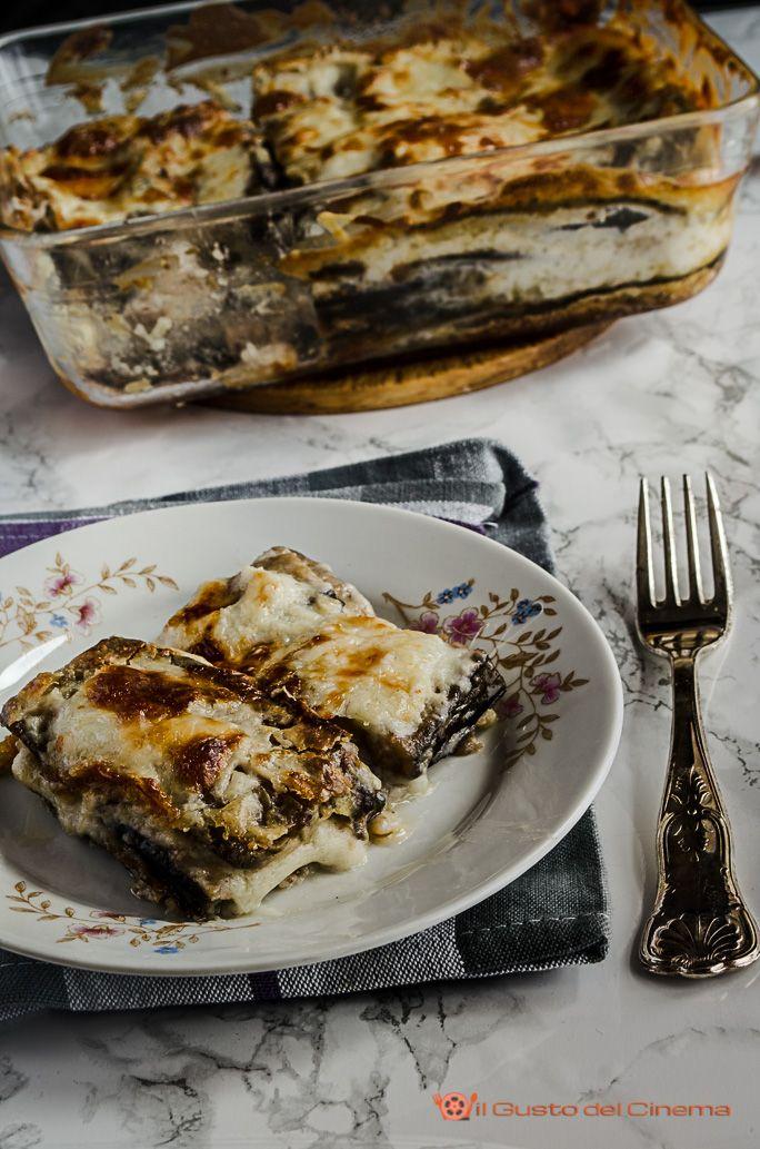 Parmigiana di melanzane bianca | Finger foods, Gusto and Cucina