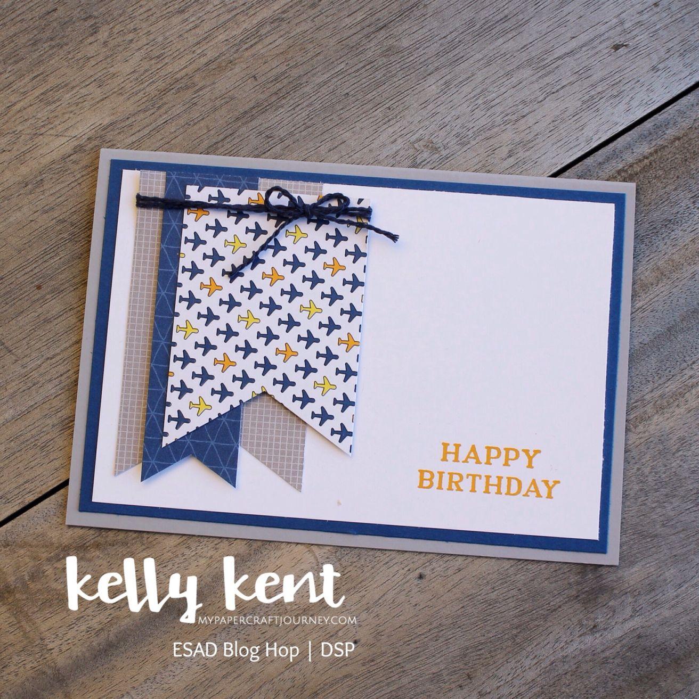 esad blog hop  stampin up cards handmade birthday cards
