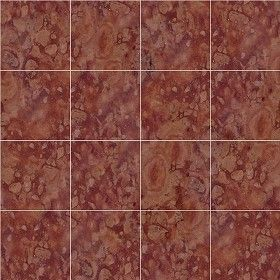 Textures Texture seamless | Asiago red marble floor tile texture ...