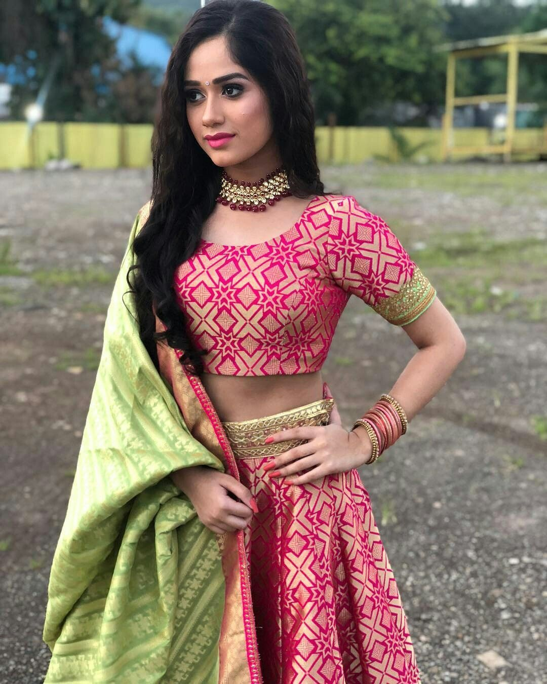 Jannat zubair pink dress  Pin by Juwariyah Nafees on Jannat Zubair Rahmani in   Pinterest