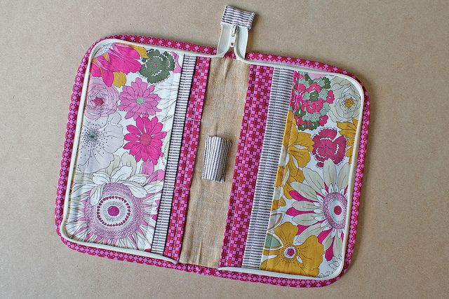 Zip Organizer from Zakka Style Tutorial