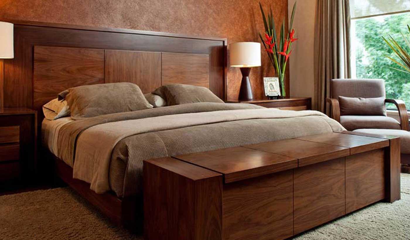 25 Recamaras modernas de madera