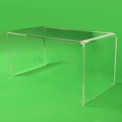 Details About Premium Clear Acrylic Perspex Coffee Table 70cm Long