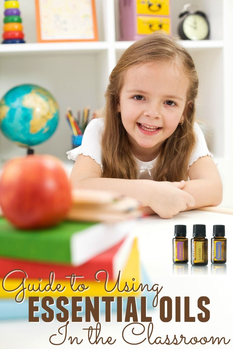 Guide for Using Essential Oils in the Classroom
