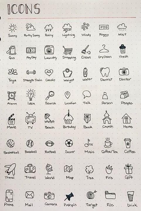 Icons Icon Icons Doodleart Bullet Journal Writing Bullet Journal Banner Bullet Journal Aesthetic