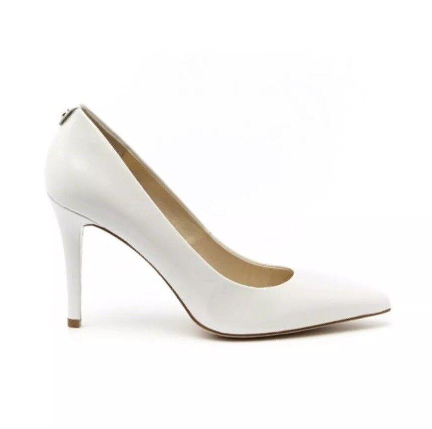 Michael Kors Elisa Pump White Leather