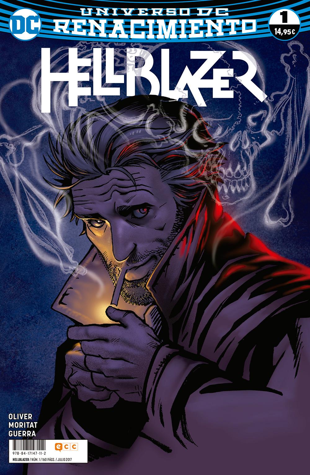 The Hellblazer Rebirth 1 Historietas Renacimiento Novelas Gráficas