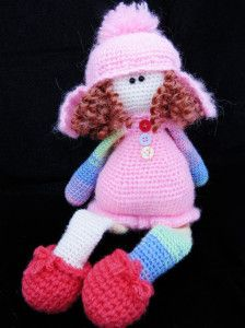 Кукла,вязание,крючком,ручная работа,cniting,crochet,doll,tilda