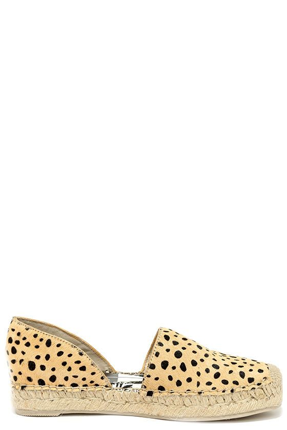 248c72b27 Overseas or right at home, the Dolce Vita Ciara Leopard Pony Fur Espadrille  Flats will put you in instant vacation mode! These luxe little flats have a  ...