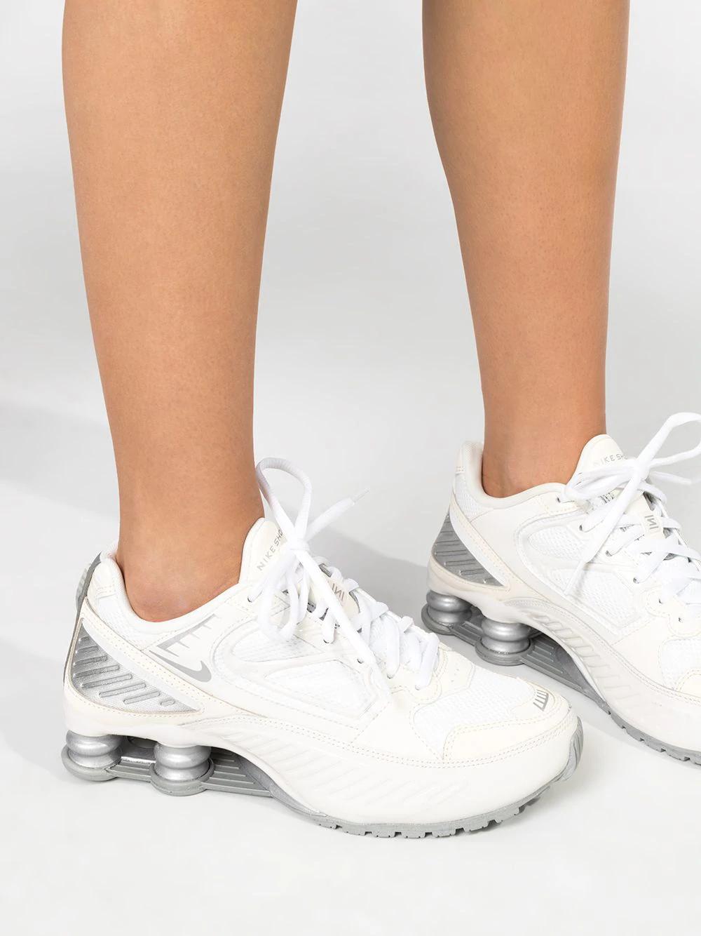 Nike Shox Enigma 9000 Sneakers - Farfetch in 2020   Nike ...