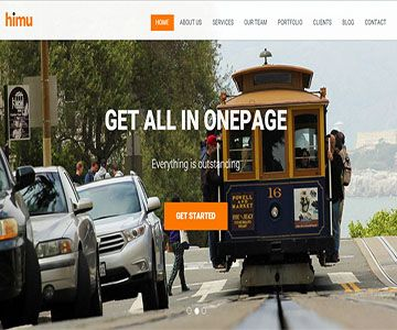 Himu – Free Responsive Bootstrap Template   Free Bootstrap