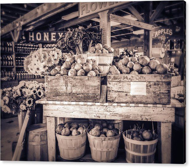 "#FarmStand Canvas Print featuring the photograph ""Avila"" by Caitlyn Grasso"