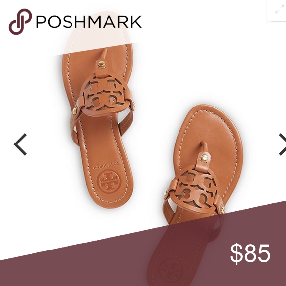 c5dec69b762b ISO 100% Authentic Tory burch sandals Hey guys I m in search of authentic  Tory burch miller in a size 8 or 8.5 vintage vachetta or sand I m not  looking to ...