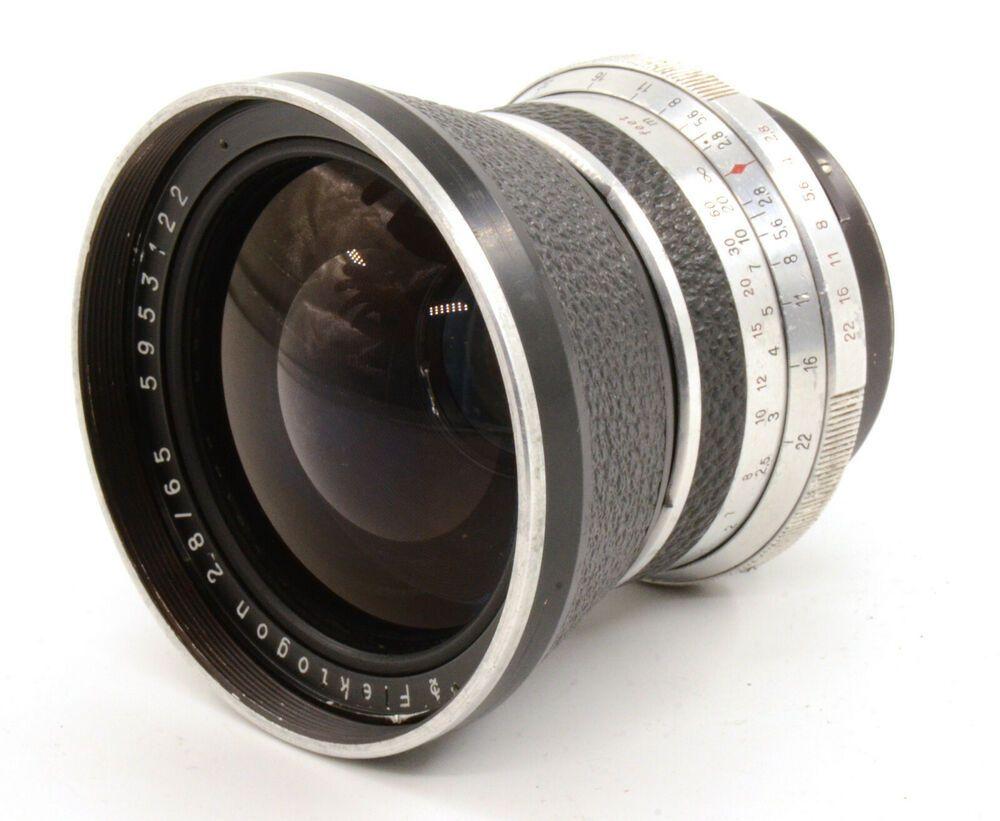 Carl Zeiss Jena Ddr Zebra Flektogon 65mm F2 8 For Pentacon Six Mount As Is Ebay Medium Format Camera Camera Lens Zeiss