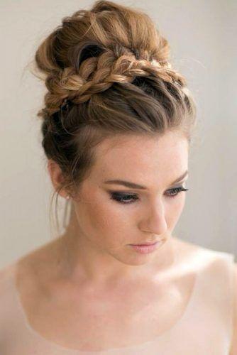 50 Chignon Hairstyles For A Fancy Look Lovehairstyles Com Bridesmaid Hair Medium Length Hair Styles Long Hair Styles