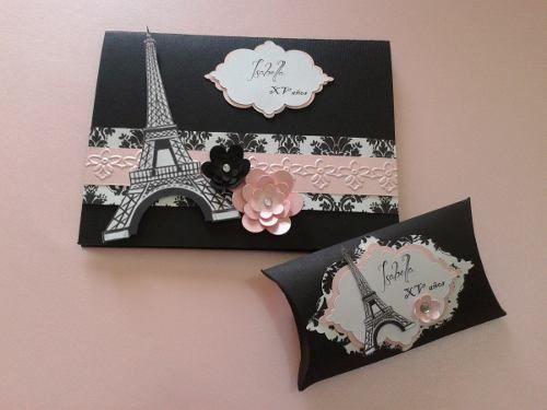 Sweet16 Paris Fiestas Tematicas Paris Tarjetas De