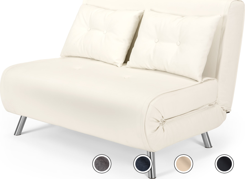 Haru Small Sofa Bed Ibis Cream From Made Com Neutral Compact In Size The Haru Is Ideal For Homes That You Want To Keep R Small Sofa Bed Small Sofa Sofa Bed
