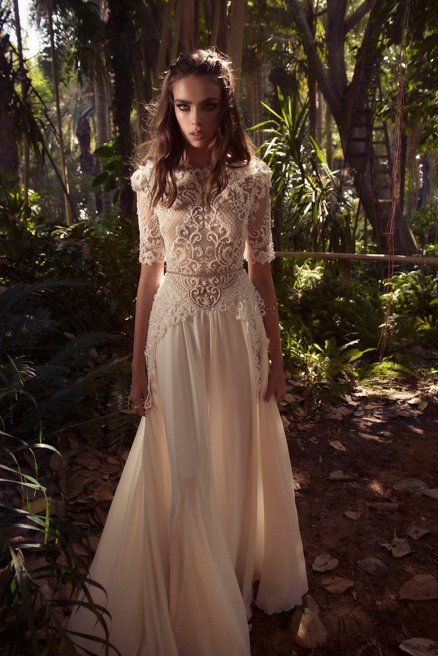 Gorgeously dreamy yaki ravid wedding dresses for wedding