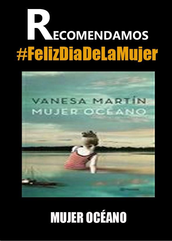 MUJER OCÉANO #FelizDiaDeLaMujer #libros #ebook #librerias