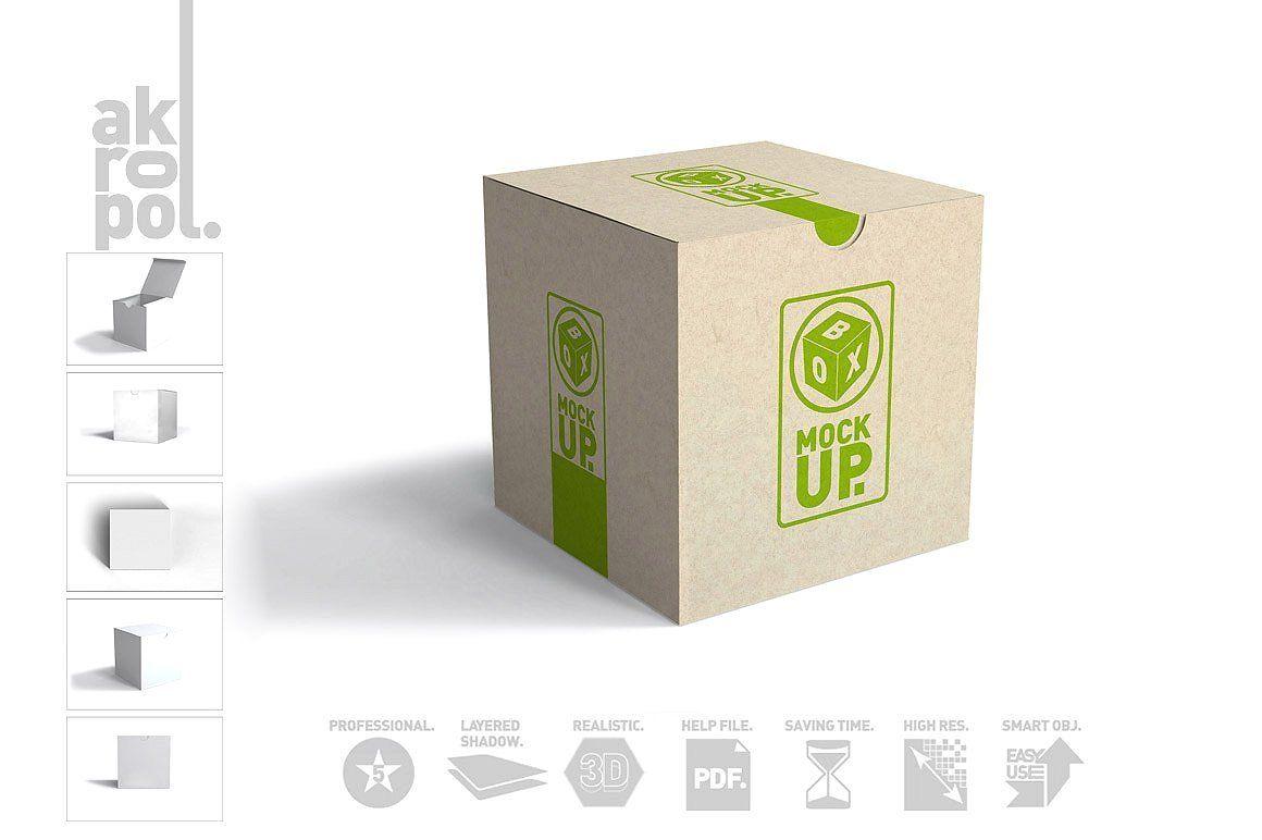 Download Box Mockups Box Mockup Mockup Box Packaging
