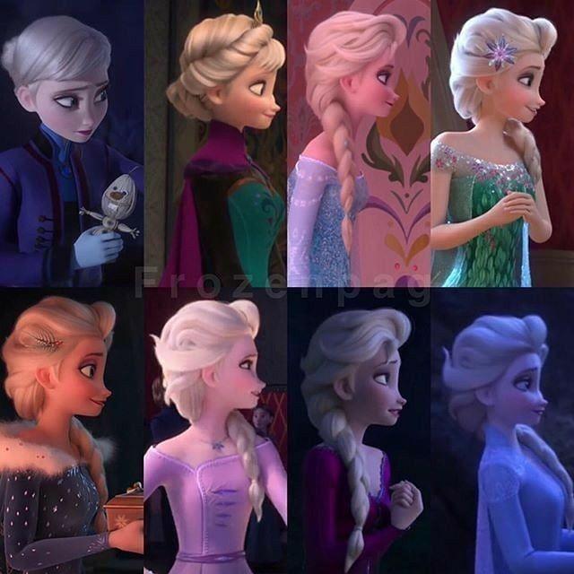 Elsa's side view