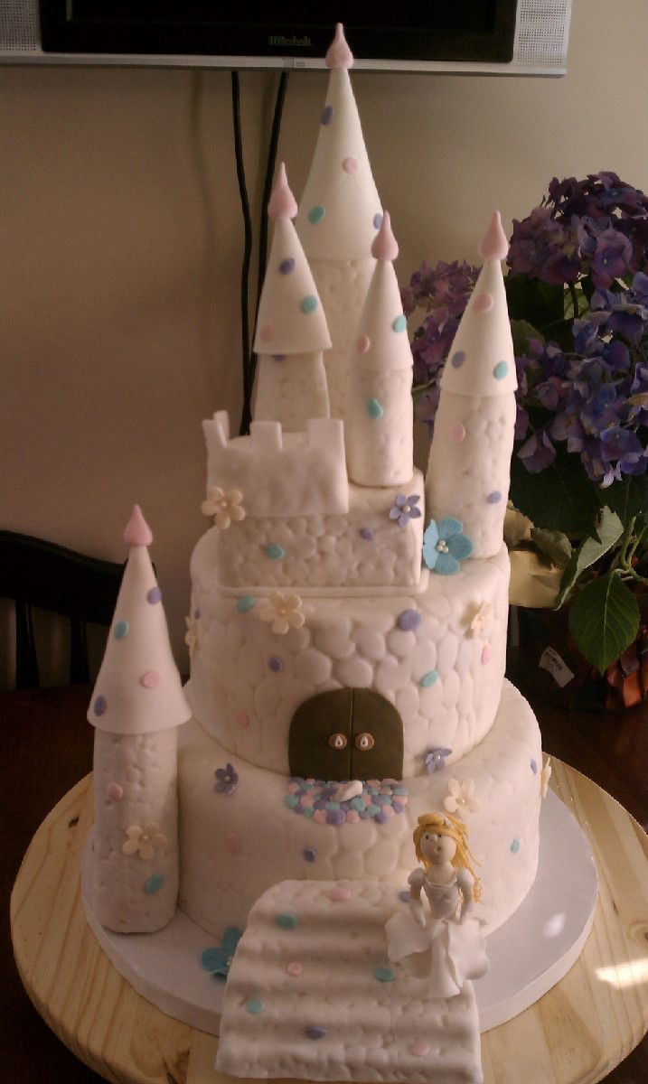 Cinderella Castle Birthday Cake Anticipated Creations Board
