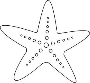 Modest image inside printable starfish