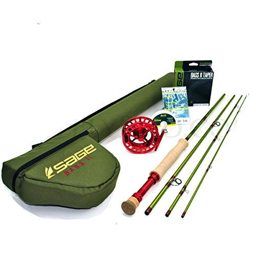 Sage Bass Ii Smallmouth Fly Rod Outfit Wsage 4250 Reel 711 290gr Check Out The Image By Visiting The Link Fly Rods Rod Topwater Lures