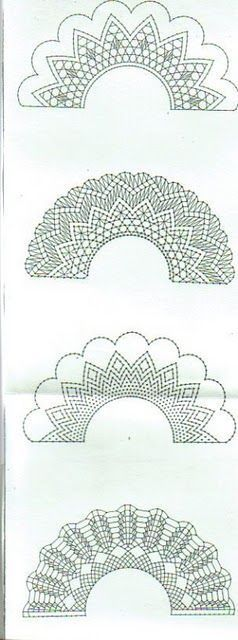 32f0244f8335e1772f349d4905096bc6.jpg 238×640 pixels | Crochet ...