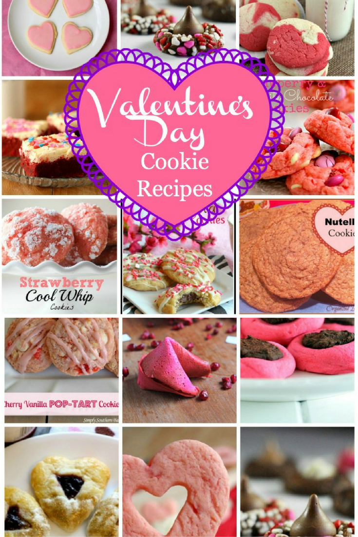 Valentine S Cookie Recipes Food And Recipes Pinterest Cookie