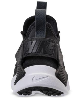 ed7ffb15ac Nike Big Boys' Huarache Drift Casual Sneakers from Finish Line - Black 6.5