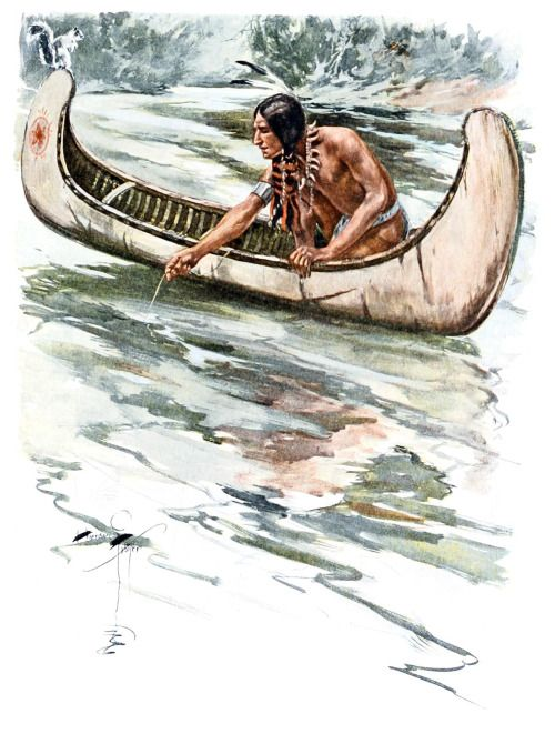 harrison fisher from the song of hiawatha by henry wadsworth  harrison fisher from the song of hiawatha by henry wadsworth longfellow napolis