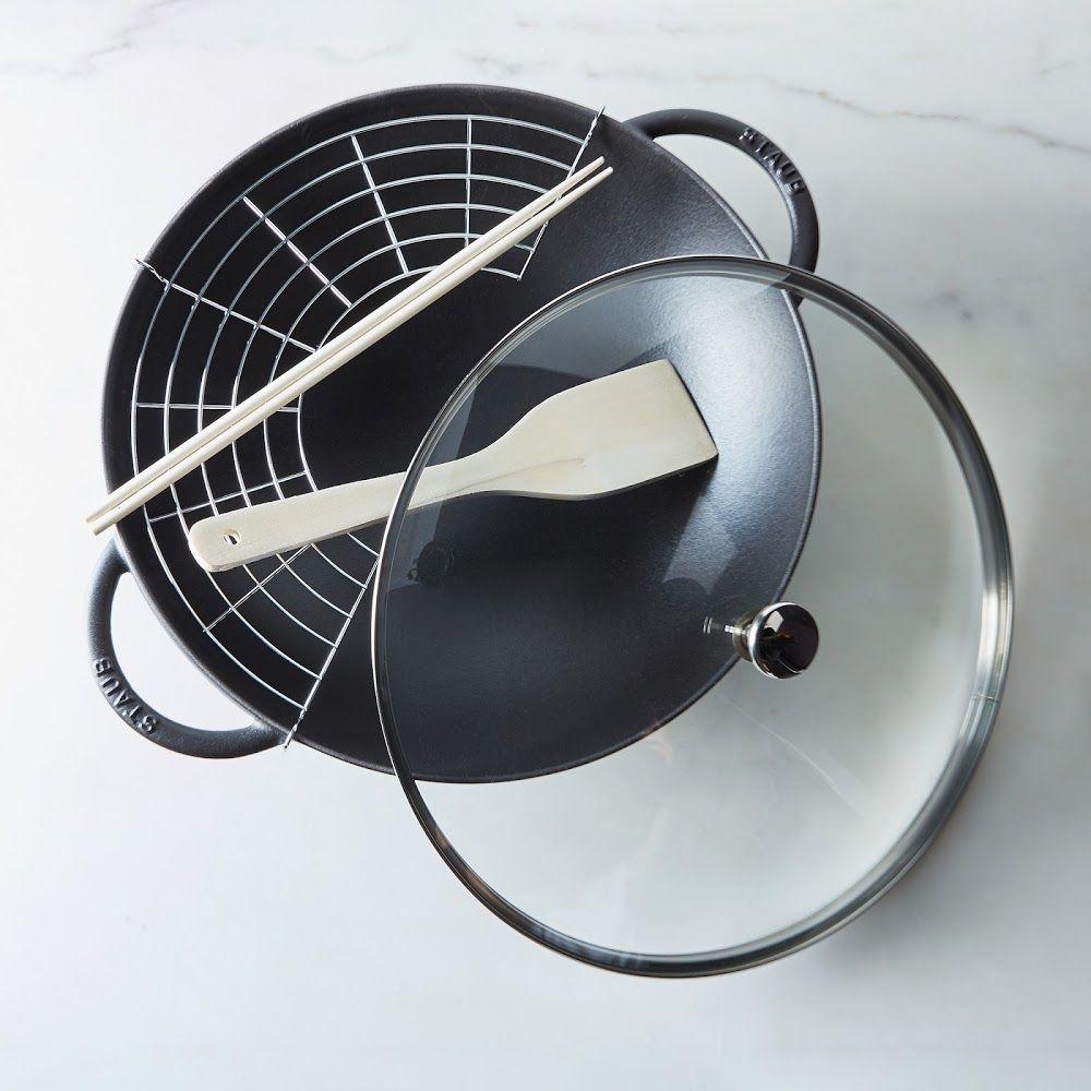 die besten 25 wok aus gusseisen ideen auf pinterest k chen pfannen rustikale. Black Bedroom Furniture Sets. Home Design Ideas