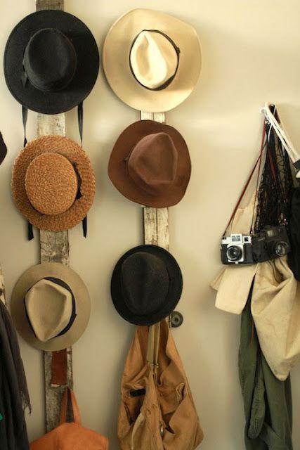 Sherriamour Pinterest Tuesday Hat Storage Hat Rack Diy Hat Rack