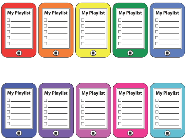 My playlist: an activity designed to engage students\' musicianship ...