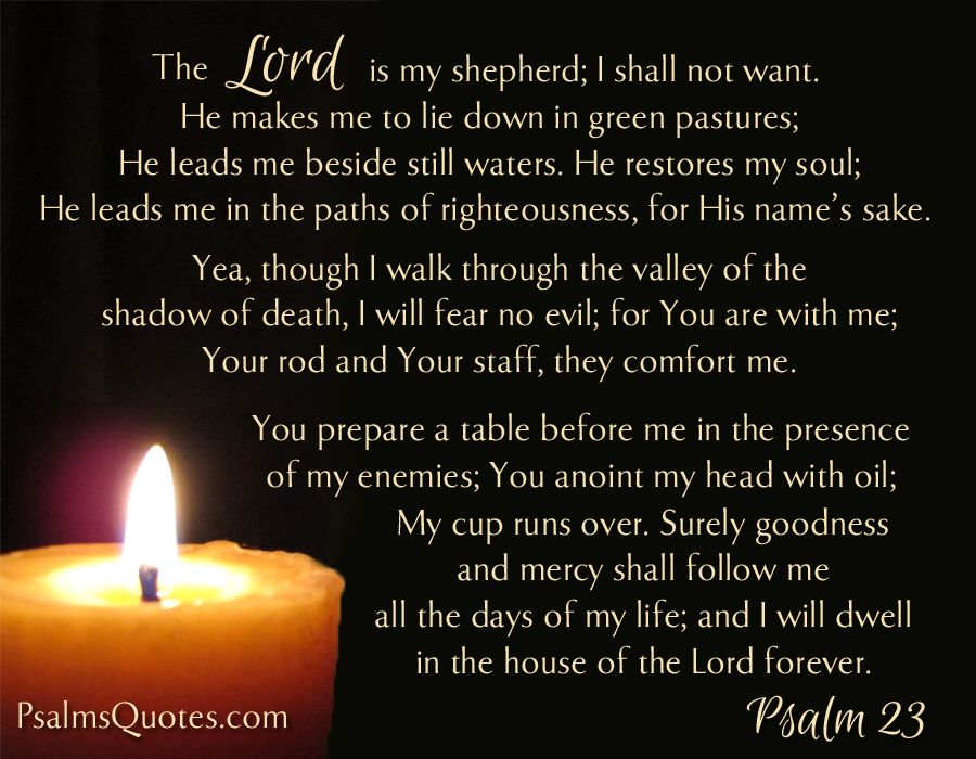 Image result for 23 psalm images