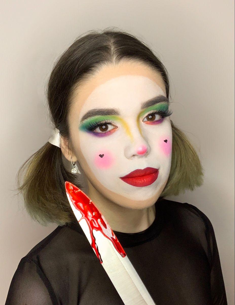 Clown Halloween Makeup Halloween Makeup Easy Halloween Makeup Makeup
