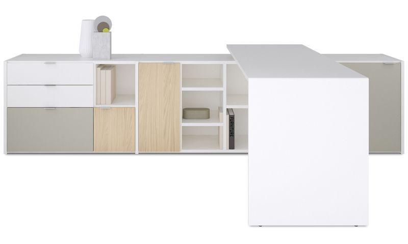 Bonus Products - Sistema de oficina Copenhagen - Blanco - Laca ...